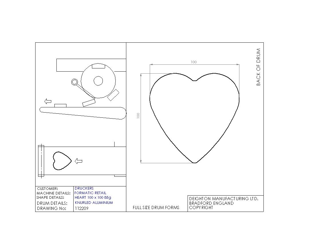 Single drum shapes heart shape ccuart Choice Image